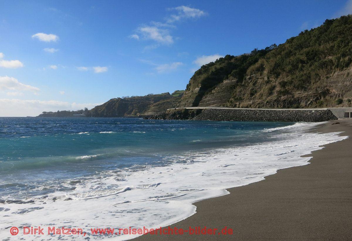 100 bilder von der azoren insel s o miguel portugal strand praia agua d 39 alto. Black Bedroom Furniture Sets. Home Design Ideas